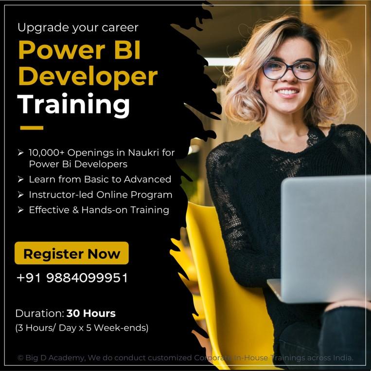 Power Bi Developer Training