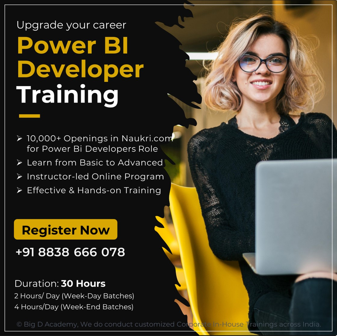 Big D Academy Power Bi Training