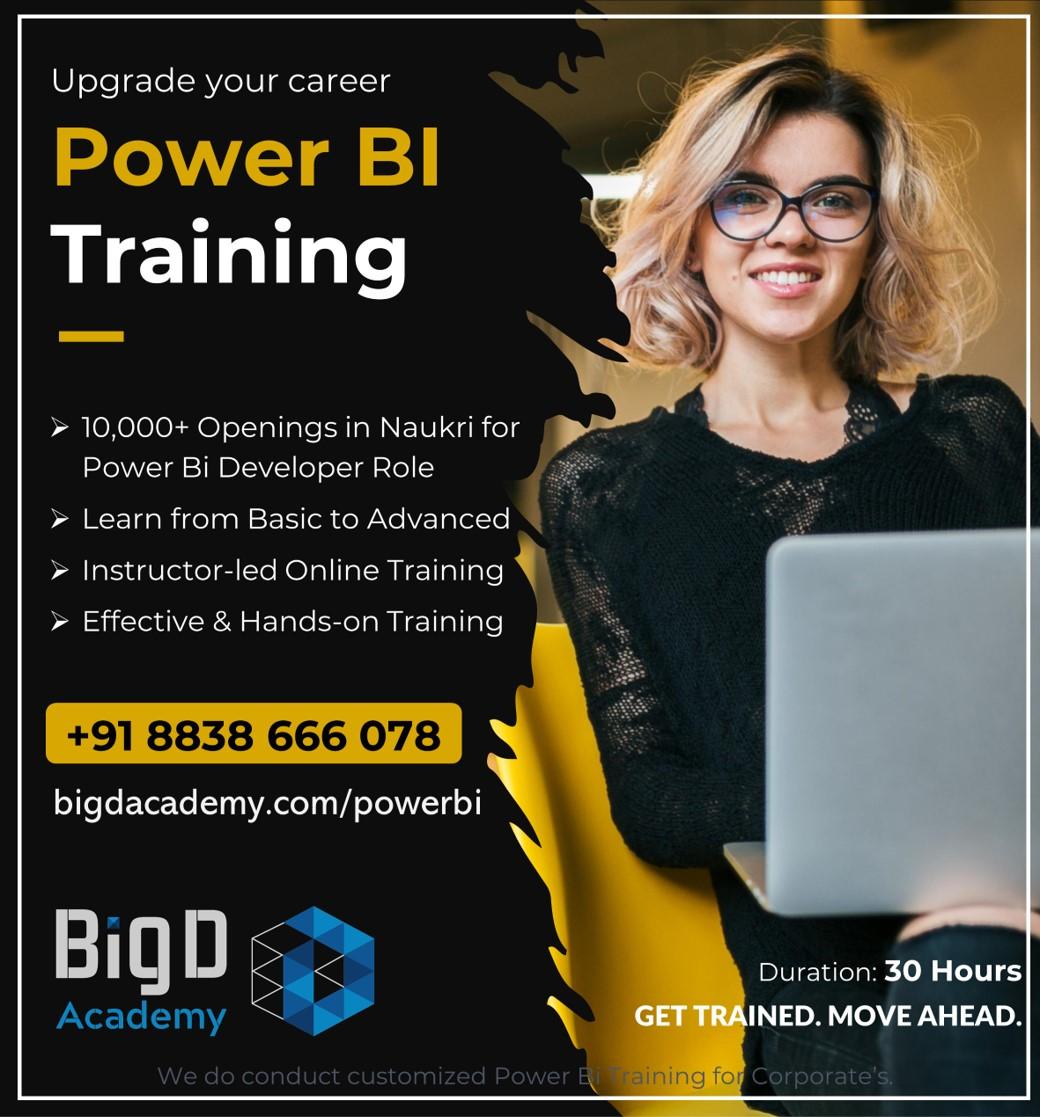 Power Bi Training Promo